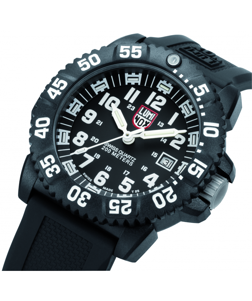 Reloj Luminox Original Navy Seal 3051 45mm