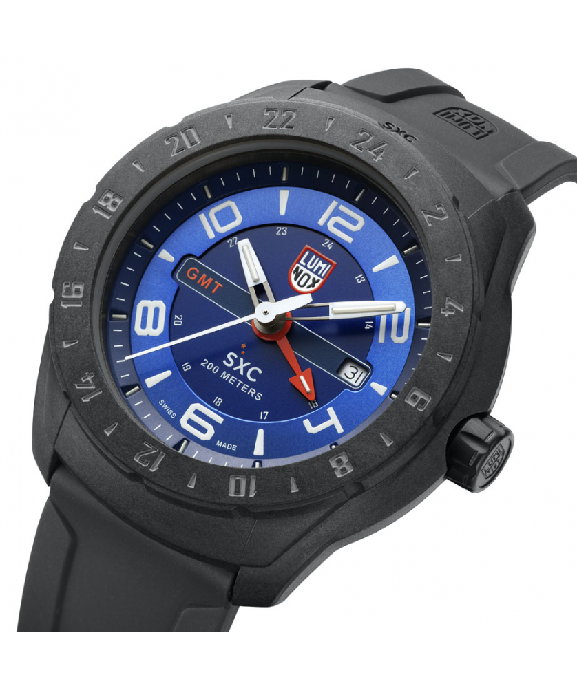 Reloj Luminox Xcor Aerospace Carbon Compound GMT 5023 45.5mm