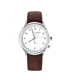 Reloj Mondaine Helvetica No1 Regular 2nd time zone 40 MH1.R2010.LG