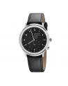 Reloj Mondaine Helvetica No1 Regular 2nd time zone 40 MH1.R2020.LG