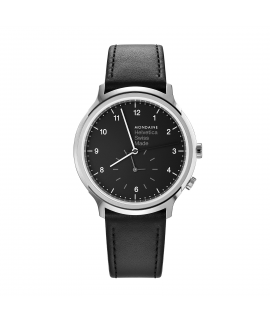 Reloj Mondaine Helvetica No1 Regular 2nd time zone 40 MH1.R2020.LG
