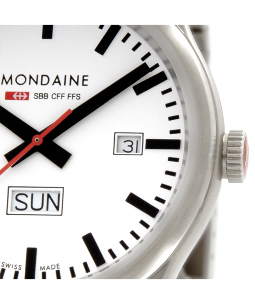 Reloj Mondaine SBB Sport Day Date 41 A667.30308.16SBB
