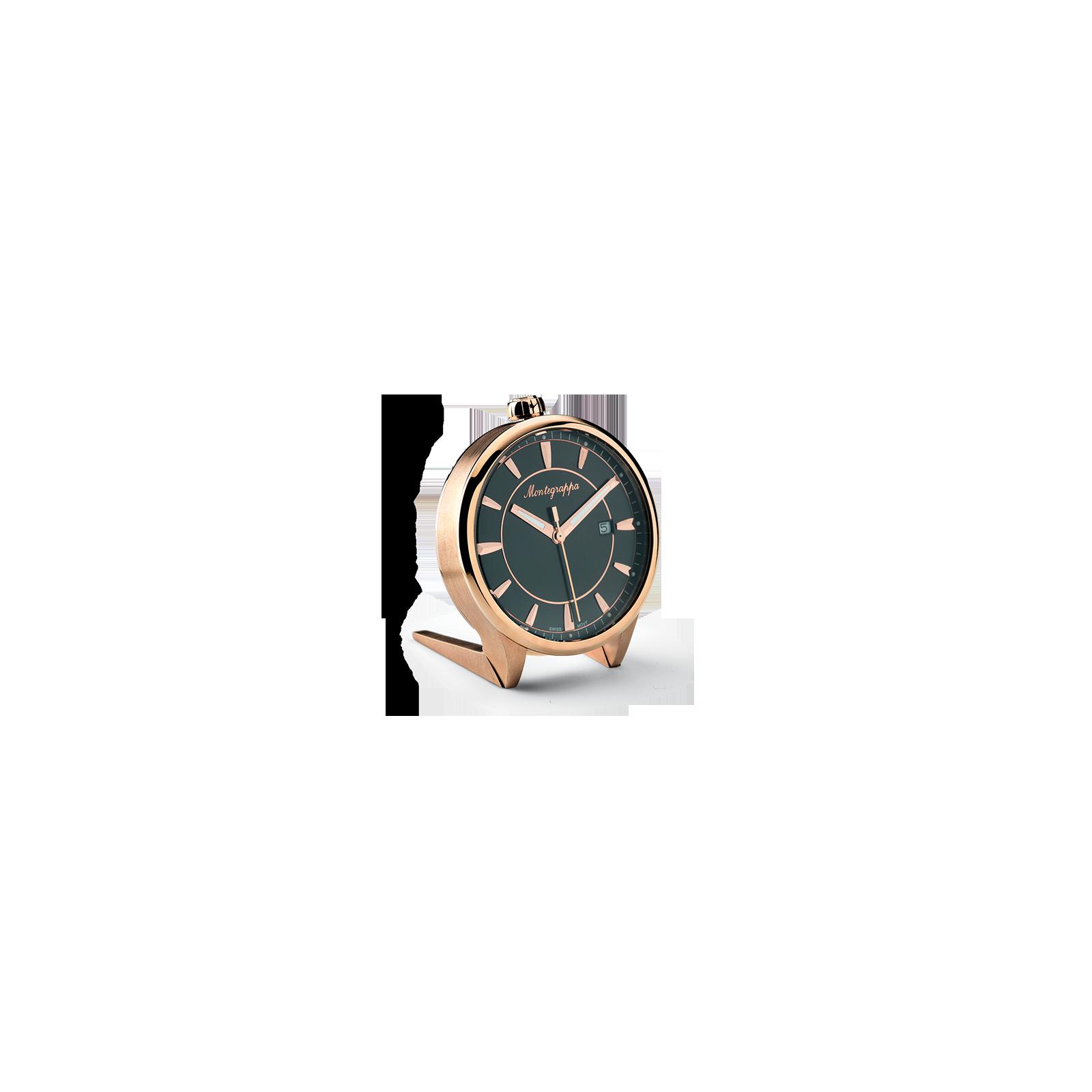 a61ec001716 Reloj Fortuna Table Clock 40mm IDFOTCRB