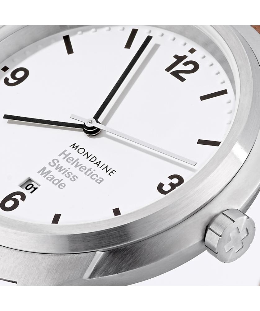 Reloj Mondaine Helvetica Bold 43 MH1.B1210.LG
