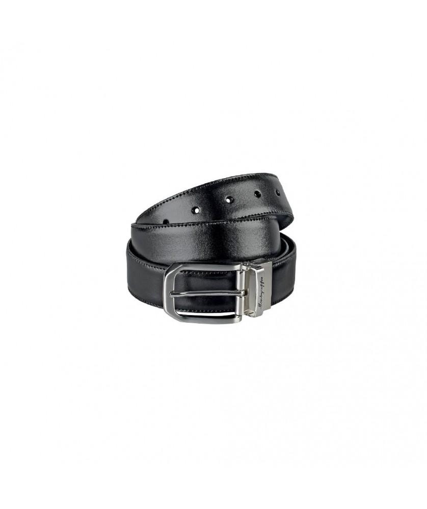 Cinturón de piel reversible MONTEGRAPPA Il Signore IDBEBOBB.35