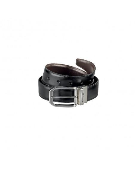 Cinturón de piel reversible MONTEGRAPPA Il Signore IDBEBOBW.30