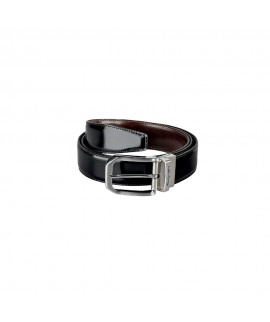 Cinturón de piel reversible MONTEGRAPPA Il Signore IDBEVIBW.35