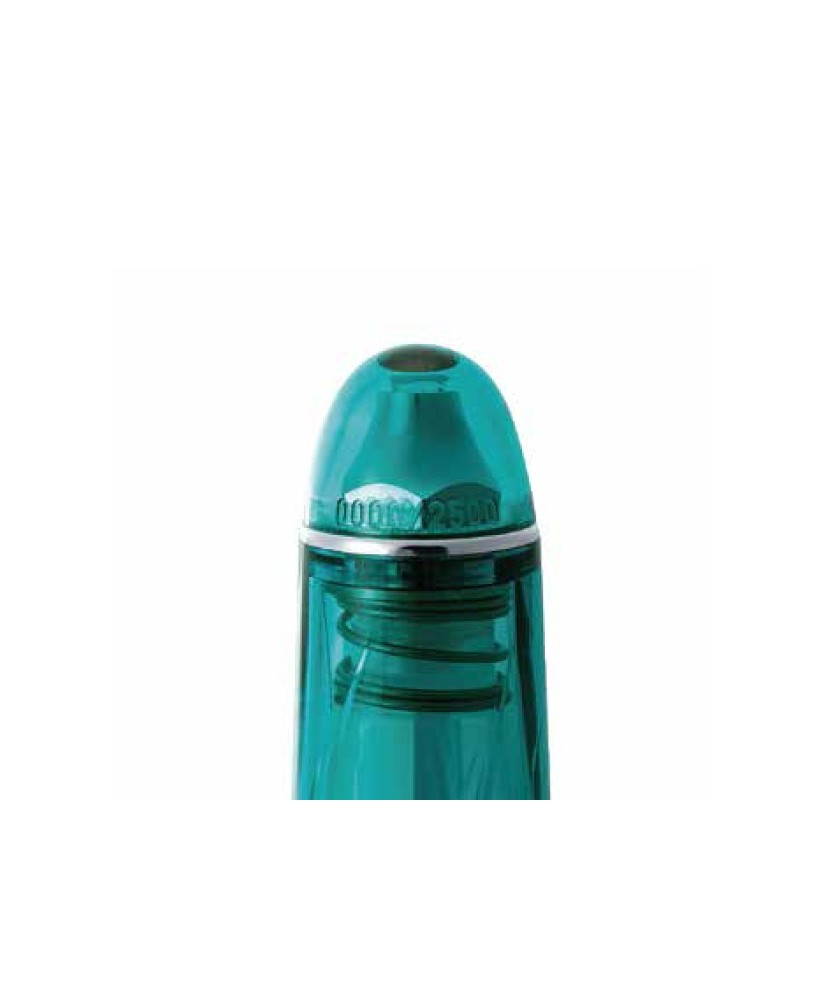 Pluma estilográfica PLATINUM Century Kumpoo 3776 PNB-25000SK Traslucent turquoise blue