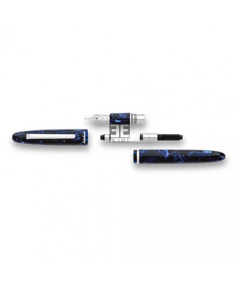 Pluma estilográfica ESTERBROOK Estie Cobalt Silver - E146