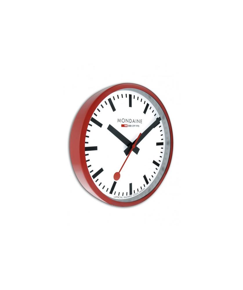 Reloj Mondaine Clock Wall 25cm A990.CLOCK.11SBC