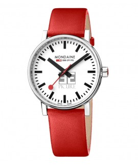 Reloj Mondaine SBB evo2 Big 40mm MSE.40110.LC