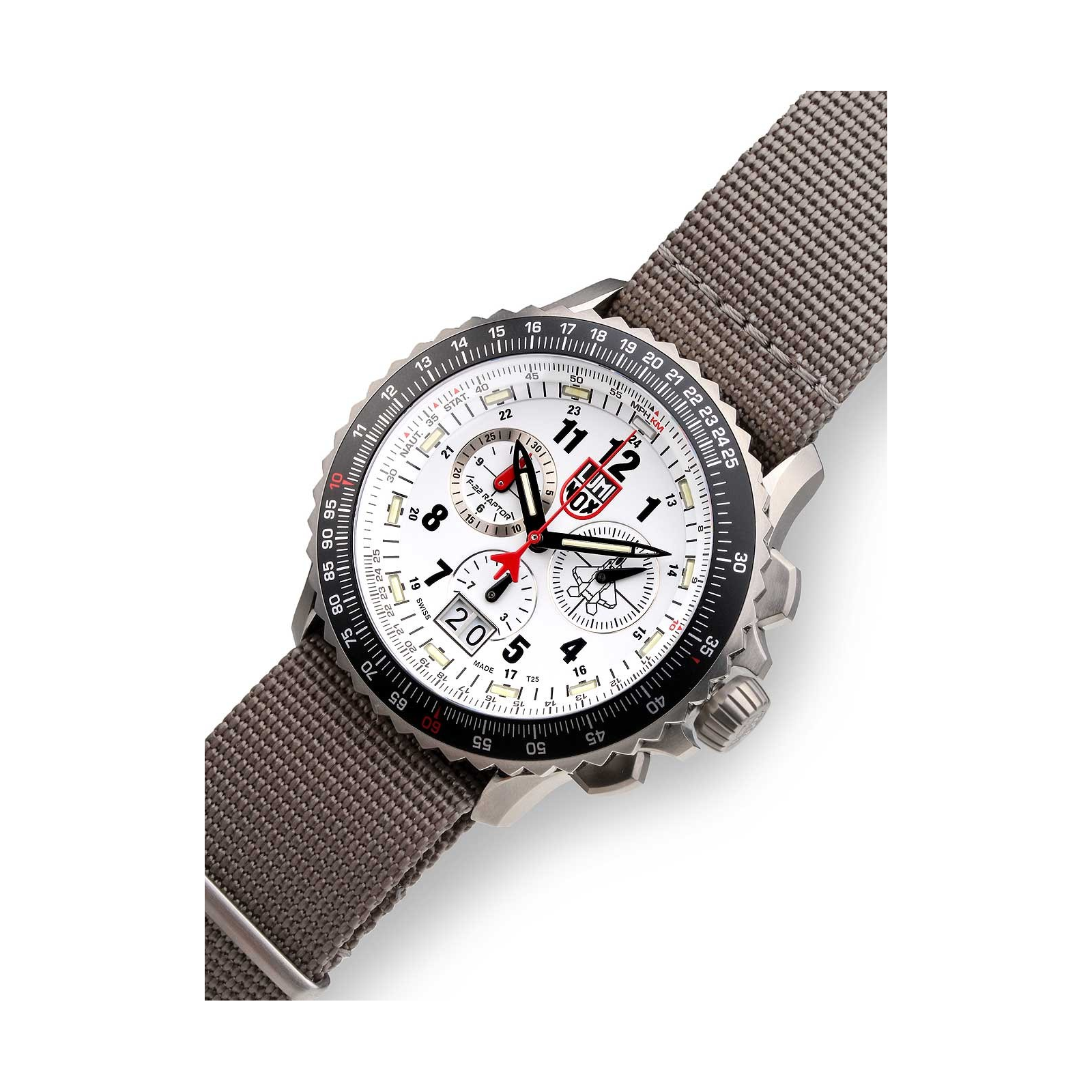 1ddffa341e82 Reloj Luminox F-22 Raptor 9249.1 44mm
